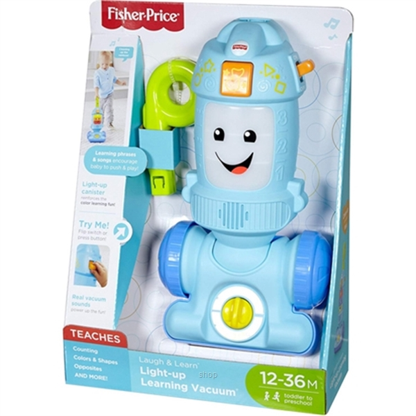 Fisher-Price Laugh & Learn Light-up Learning Vacuum - FNR97-6