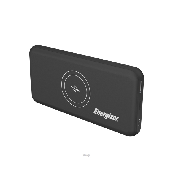 Energizer 10000mAh Wireless Fast Charge Portable Power Bank with USB-C Input - QE10007-0