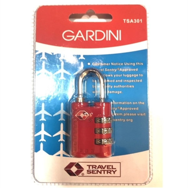 Gardini TSA301 TSA Combination Lock-2