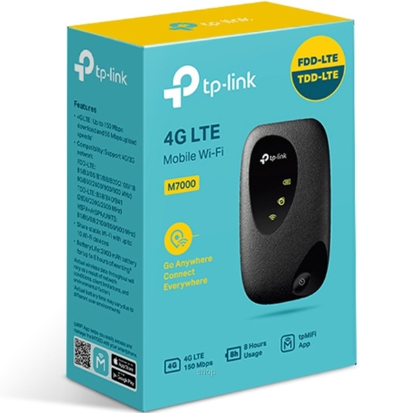 TP-Link M7000 Mobile Wi-Fi & 4G LTE Router-2