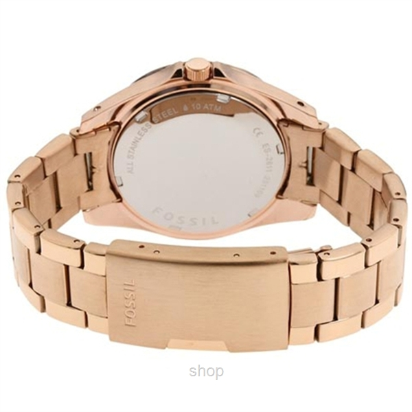 Fossil Women's Riley Mini Plated Stainless Steel Watch - ES2811-2