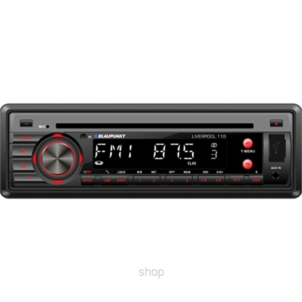 Blaupunkt 1-DIN Bluetooth Liverpool 110-0