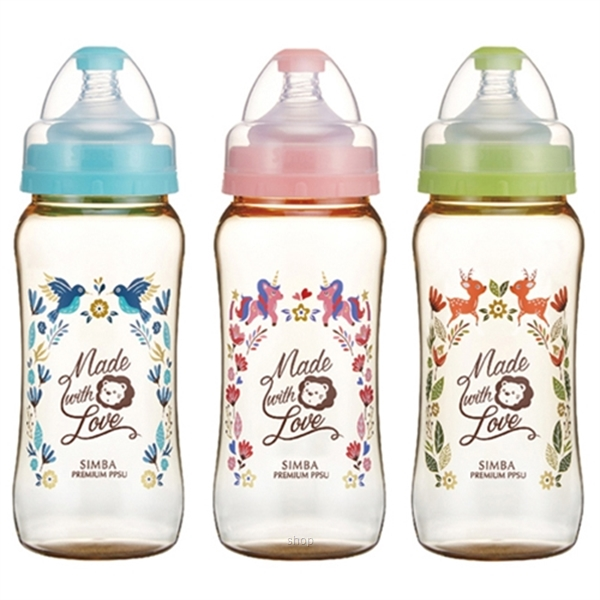 Simba 360ml (12oz) Dorothy Wonderland PPSU Wide Neck Feeding Bottle-0