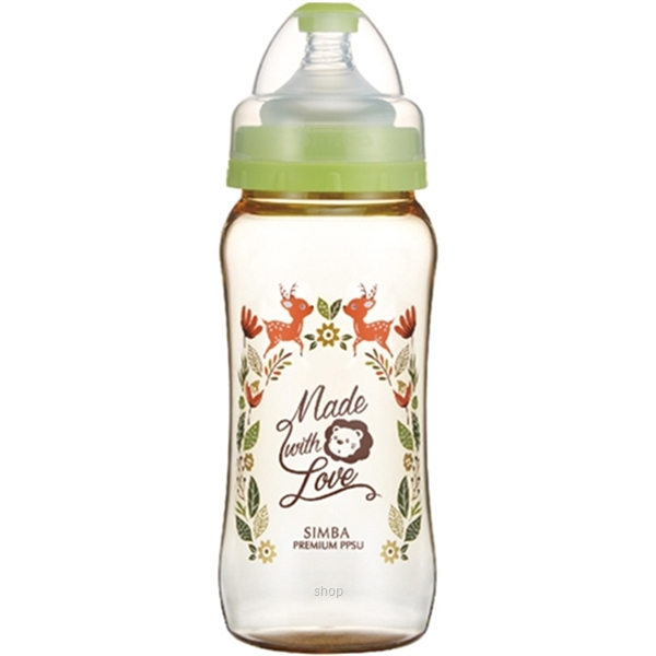 Simba 360ml (12oz) Dorothy Wonderland PPSU Wide Neck Feeding Bottle-1
