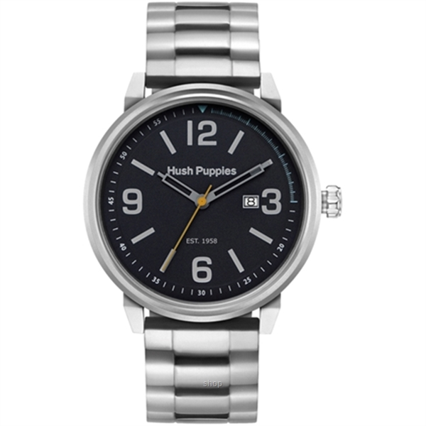 Hush Puppies Orbz Stainless Steel Strap Men's Watch - HP.3841M.1502-0