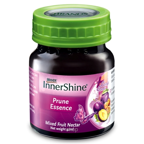 BRAND'S® InnerShine Prune Essence (1 x 12's) + InnerShine Berry (1 x 6's) - 18 Bottles x 42ml-1