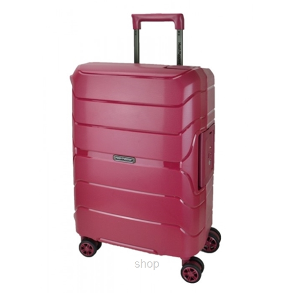 Hush Puppies 29-Inch PP Hardcase Luggage With 3-Point Lock System - HP02-694020-29-0