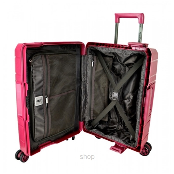Hush Puppies 29-Inch PP Hardcase Luggage With 3-Point Lock System - HP02-694020-29-6