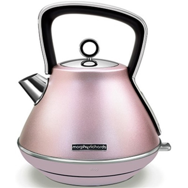 Morphy Richards Evoke Special Edition Rose Quartz Pyramid Kettle - 100117-0