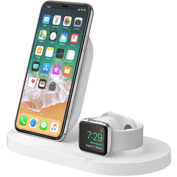 Belkin 7.5W Charge Dock For Apple Watch & iPhone - F8J235my-1