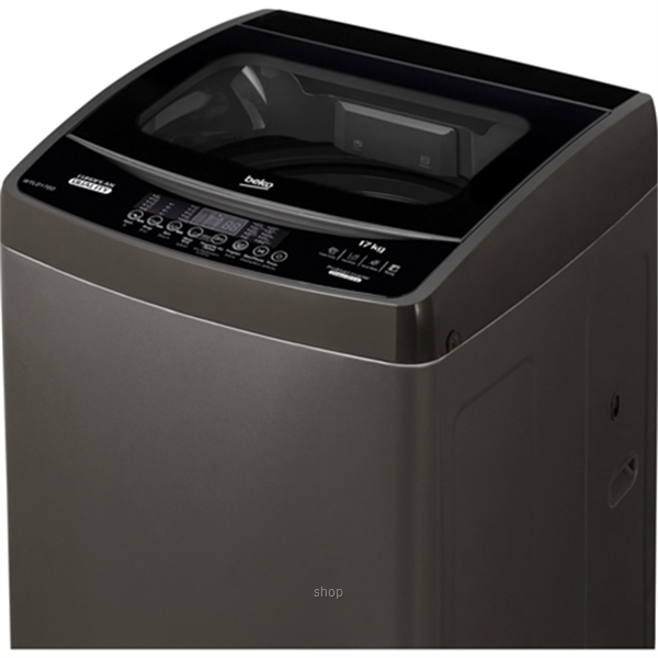 Beko 17.0kg Top Load Washing Machine Dark Grey - WTLD170D-2