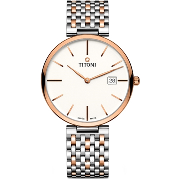Titoni Slenderline Watch - 82718 SRG-606-0