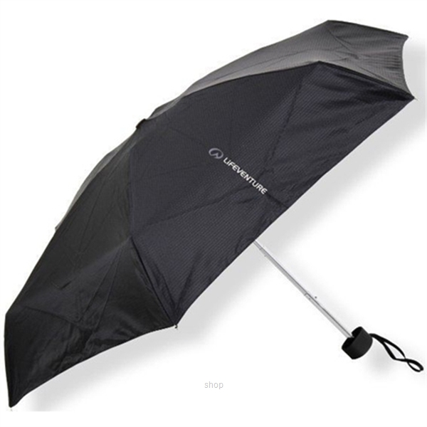 Lifeventure Trek Umbrella Small Black - LVE-9460-0