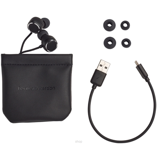 Harman Kardon Fly BT Bluetooth In-ear Headphones Black-4
