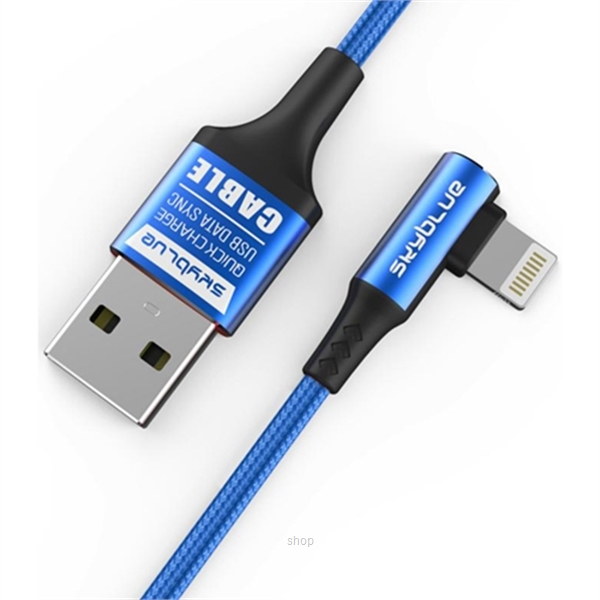 Skyblue Light Speed (IP) Premium IP7/8/X USB Data Cable 100cm-0
