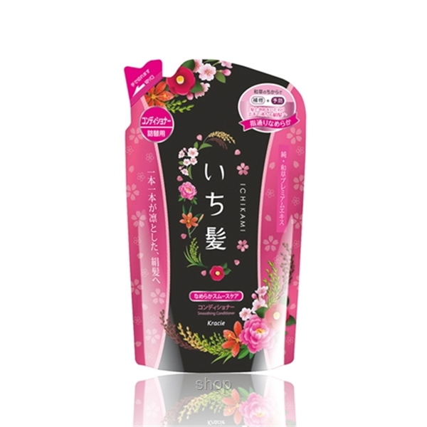 Kracie Ichikami Refill Pack Smooth Conditioner 340g-0