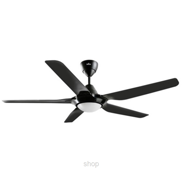 Deka SV-38L Black Ceiling Fan-0