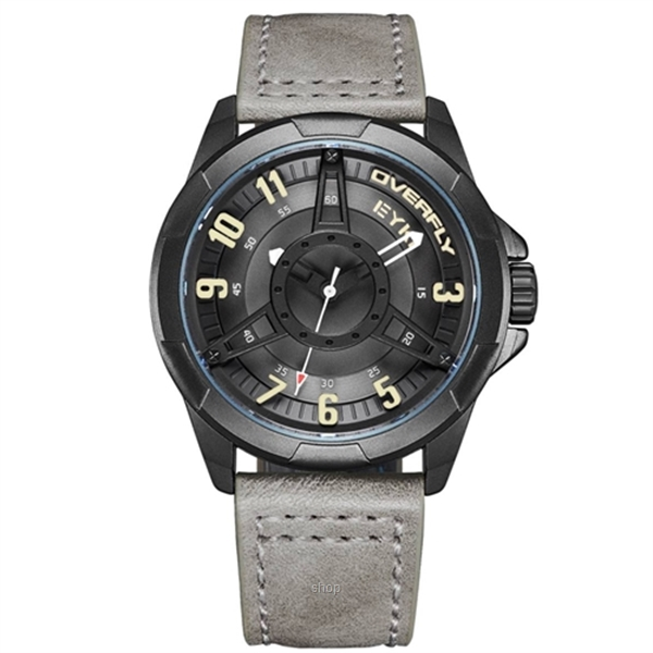 Overfly Fashion Men Watch - E3139L-DZ1HZH-0