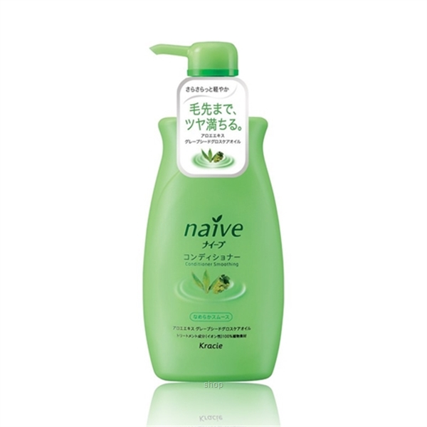 Kracie Naive Conditioner (Smooth & Silky) Jumbo 550ml - 71606-0
