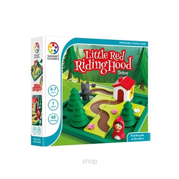 Smart Games Little Red Riding Hood Deluxe (2-9 years) - 5414301518389-0