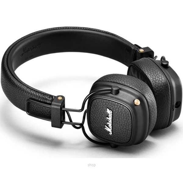 Marshall Major III Bluetooth Headphone Black - MAJOR-III-BT/BK-0