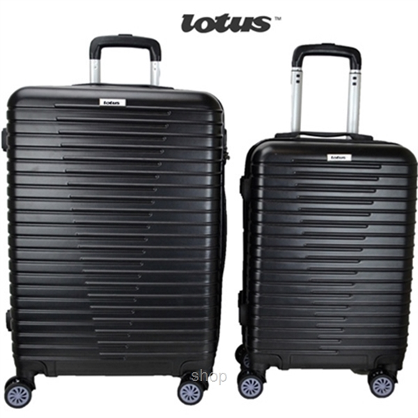 Lotus LT6111 2-in-1 ABS Hardcase Luggage Set (20in + 24in)-0
