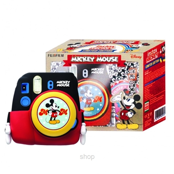Fujifilm Instax Mini 9 Mickey Mouse Limited Edition Package-1