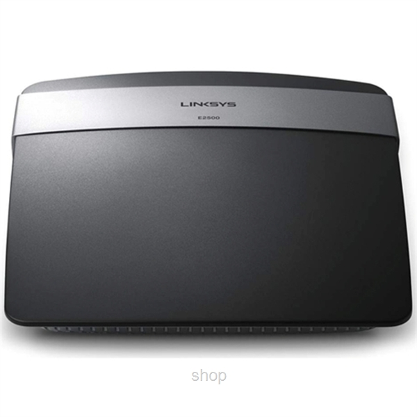 Linksys E2500 N600 Dual-Band Wireless Router - E2500-AP-0