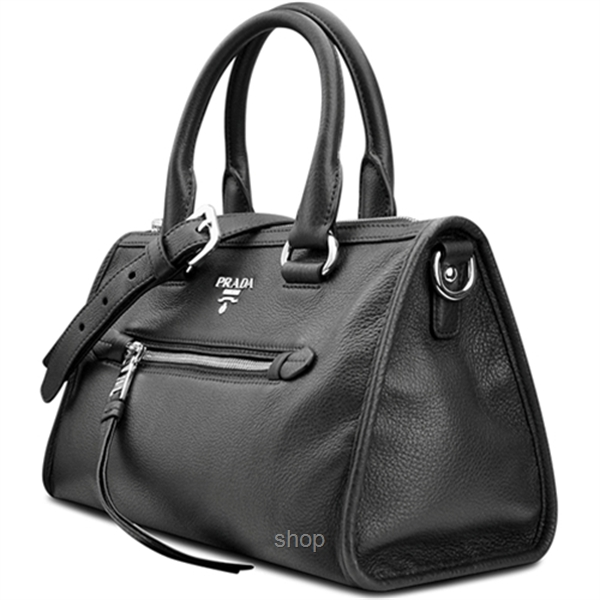 Prada 1BB022 Vitello Phenix in Inchiostro-2