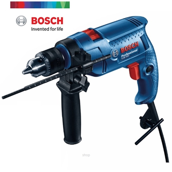 Bosch GSB 550 Professional Impact Drill (with 41pcs Accessories) - 06011A15L9-1