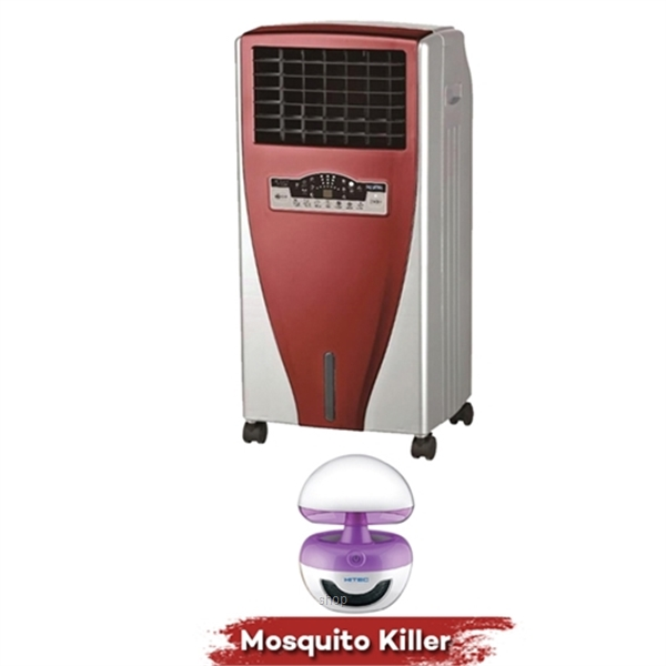 Hitec Trendy Air Cooler - HT-AC113 Free Mosquito Killer with Night Light - HT-IK808-0