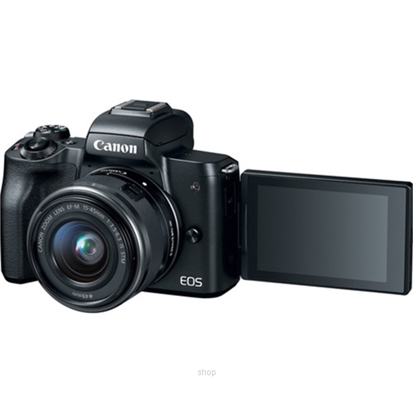 Canon EOS M50 Mirrorless Digital Camera with 15-45mm Lens Complimentary 32GB Memory Card + Canon Camera Bag (Canon Warranty)-4