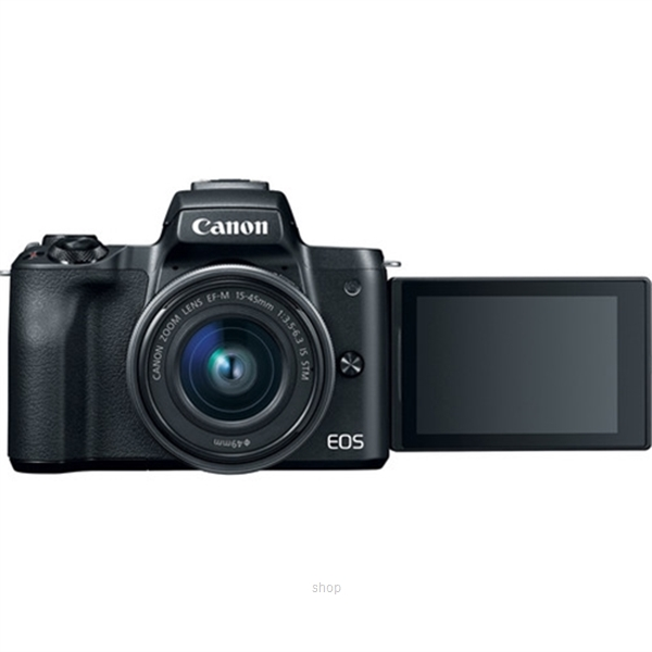 Canon EOS M50 Mirrorless Digital Camera with 15-45mm Lens Complimentary 32GB Memory Card + Canon Camera Bag (Canon Warranty)-6
