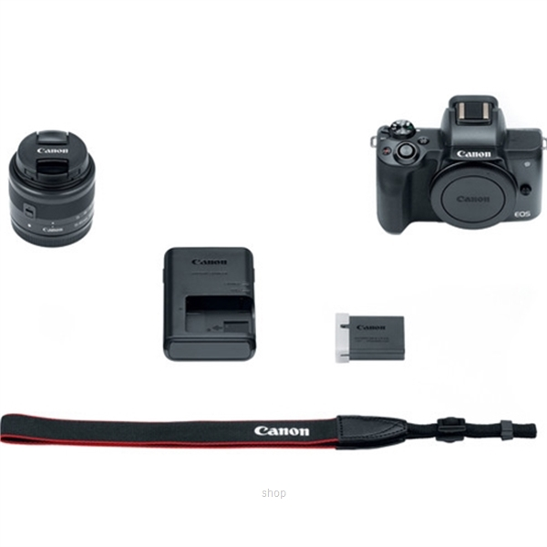 Canon EOS M50 Mirrorless Digital Camera with 15-45mm Lens Complimentary 32GB Memory Card + Canon Camera Bag (Canon Warranty)-7