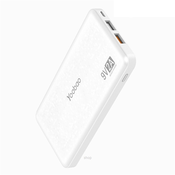 Yoobao Q12 12000mAh Quick Charge 3.0 Polymer Power Bank-1