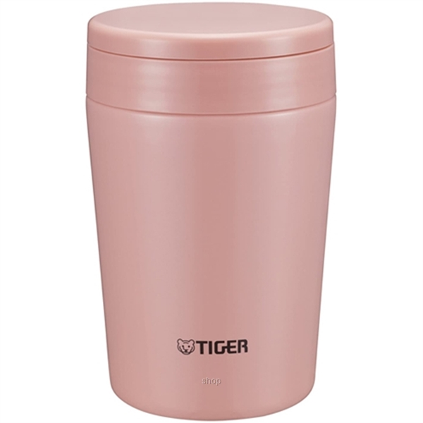 Tiger 0.38L Stainless Steel Thermal Soup Cup - MCL-A038-2