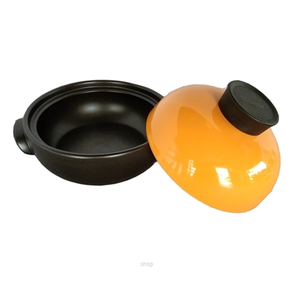 Color King 1500ml Braising Pot Orange - 3459-1500-2
