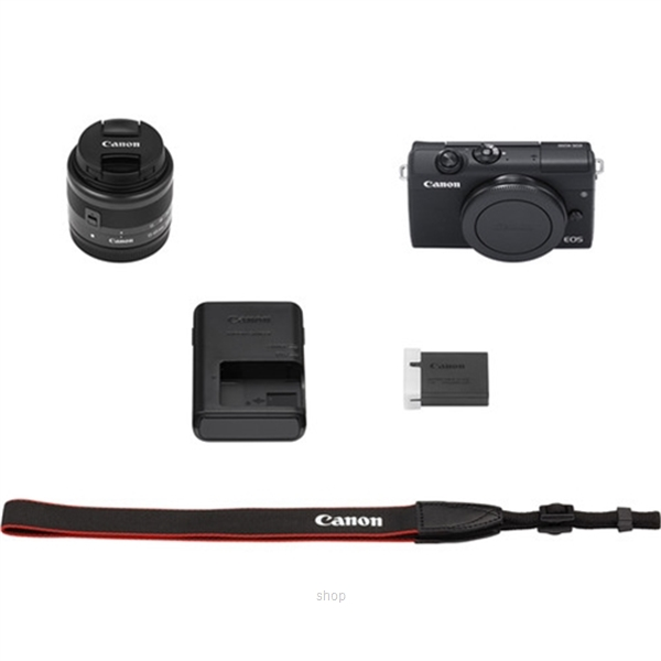 Canon EOS M200 Mirrorless Digital Camera with 15-45mm Lens Complimentary 32GB Memory Card + Canon Camera Bag (Canon Warranty)-9