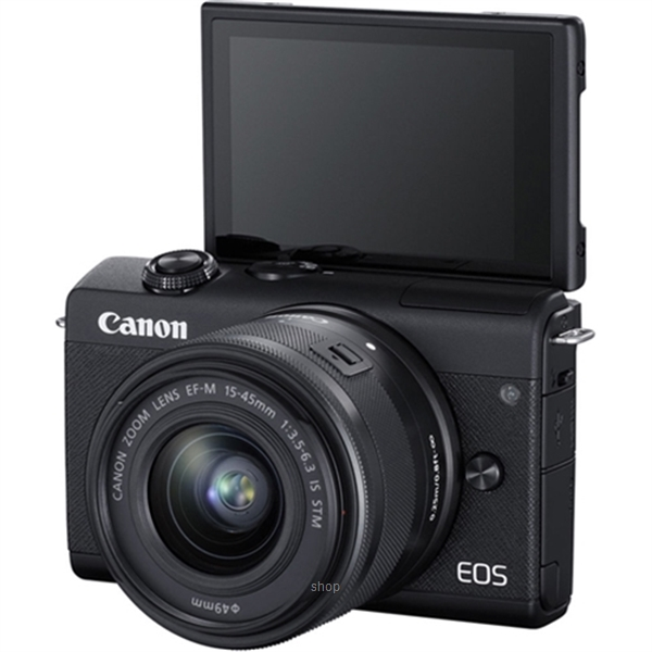 Canon EOS M200 Mirrorless Digital Camera with 15-45mm Lens Complimentary 32GB Memory Card + Canon Camera Bag (Canon Warranty)-6