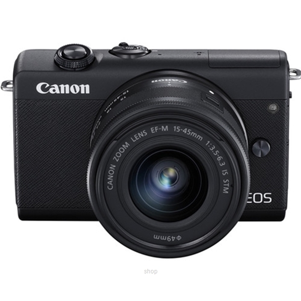 Canon EOS M200 Mirrorless Digital Camera with 15-45mm Lens Complimentary 32GB Memory Card + Canon Camera Bag (Canon Warranty)-7