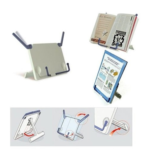 Portable BookPad Stand / Tablet Holder-3
