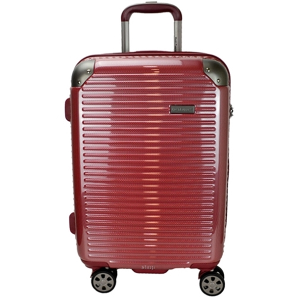 Hush Puppies 694021 25-inch ABS PC Expandable Hardcase Luggage Double Zipper-0