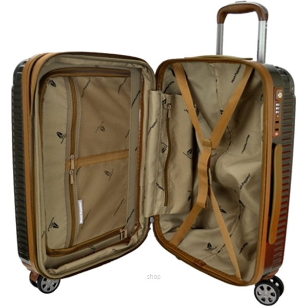 Hush Puppies 694021 25-inch ABS PC Expandable Hardcase Luggage Double Zipper-7
