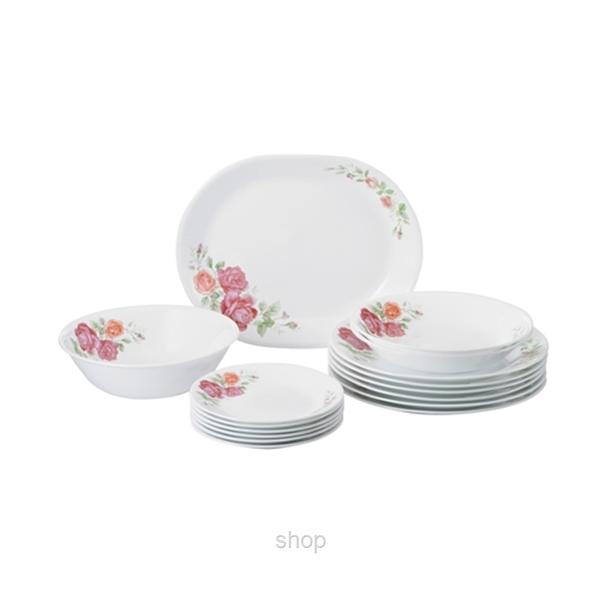 Corelle 16pcs Dinnerware Set Rosabelle - 16-ROS-MS - Superbuy ...