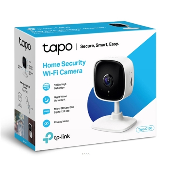 TP-Link Home Security Wi-Fi Camera - C100-2