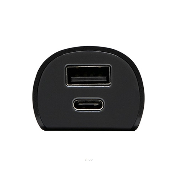 OtterBox Dual Ports USB-A/C Car Charger - 78-51733-3