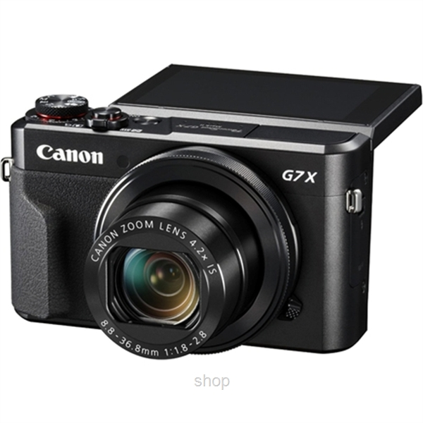 Canon Powershot Digital Compact Camera - G7X MK II + 16GB (Canon Warranty)-2