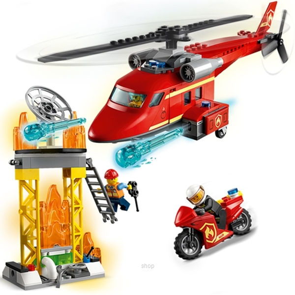 LEGO City Fire Rescue Helicopter - 60281-2