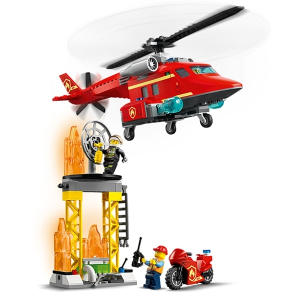 LEGO City Fire Rescue Helicopter - 60281-5