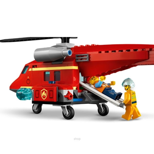 LEGO City Fire Rescue Helicopter - 60281-6